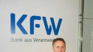 KFW Berlin director Leon Macioszek.