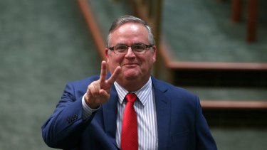 Coalition MP Ewen Jones is one of Parliament's most colourful characters.