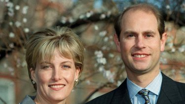 In hot water ... the Countess and Prince Edward.