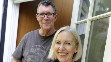 Happy to pay … Tim Thurn and Robyn Matthews.