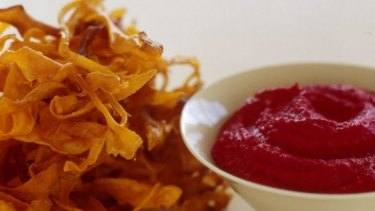 Baked chips seem a healthy option, but can be high in fat, sodium and high-GI carbs.