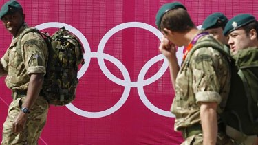 British military ... preparing to fill the Olympic security void