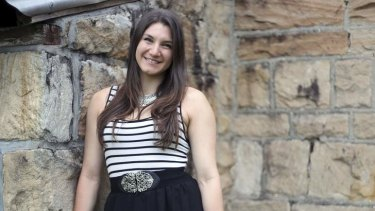 Passion pay-off: Ashleigh Werner's change of direction brought her unexpected fulfilment.