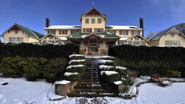 The Mount Buffalo Chalet will reopen to day trippers.