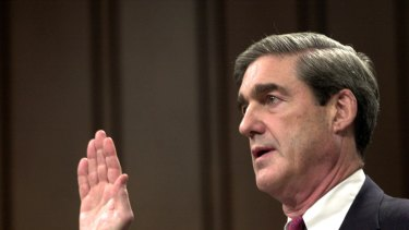 Special prosecutor Robert Mueller in 2001.