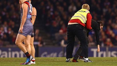 Fears Over Pitch Invaders