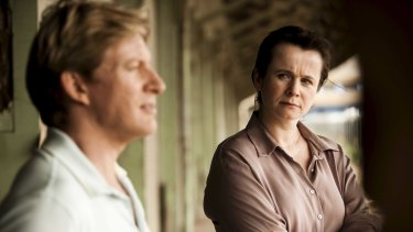 Missing pieces... Emily Watson and David Wenham try to uncover the truth.