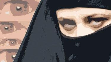 Simon Bosch illustration for Miranda Devine article.