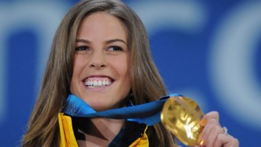 Australia's gold medalist Torah Bright