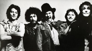 The Dingoes, circa 1977, from left, from left,  John Bois, Kerryn Tolhurst, Broderick Smith, Chris Stockley and John Lee.