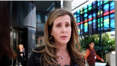 Under attack ... executive president Kathy Jackson.