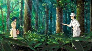 A scene from <i>The Wind Rises</i>, reportedly the last film of director Hayao Miyazaki.