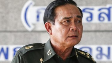 Thai army chief and coup leader General Prayuth Chan-ocha.