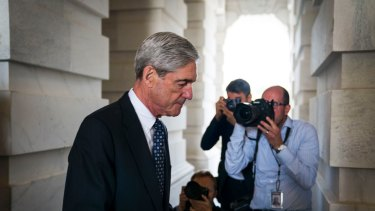 Robert Mueller, the Justice Department's special counsel, in Washington in June.