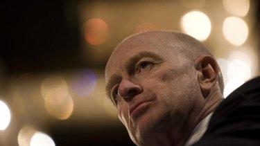 RBA chief Glenn Stevens leaves rates on hold for now.