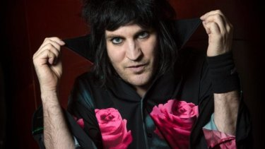 """There was a strange moment when Noel Fielding became """"Chicken Boy""""."""
