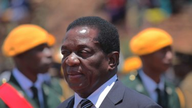 Zimbabwe's fired vice-president Emmerson Mnangagwa appears to be an unlikely winner.