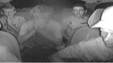 Police are looking for four young men who were picked up in Swan View on Sunday night.