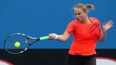 Without an official ranking, Jelena Dokic will continue to work hard on the practice court and take any wildcards on offer this summer.