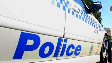 Queensland police vehicle
