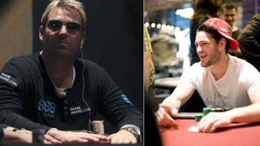 Sports stars Shane Warne and Brendan Fevola have been ambassadors for online poker companeis in Australia.