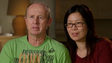 David and Wendy Farnell on 60 MInutes.