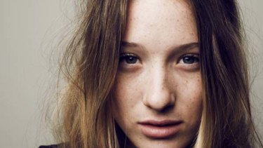 Challenging ... Sophie Lowe plays a teen who has an affair with a 40-year-old man in new TV series The Slap.