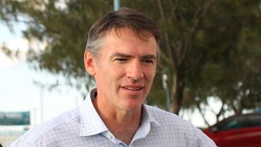 Surprised ... Independent MP Robert Oakeshott.