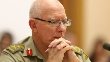 Outgoing Defence chief General David Hurley
