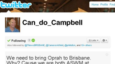 The Can-do_Campbell Twitter profile page.