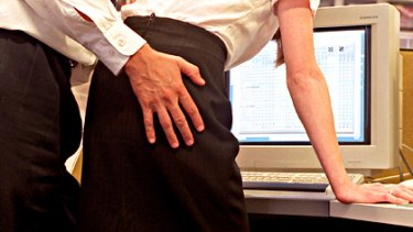 Unwelcome advance ... study finds sexist behaviour harms other men as well.