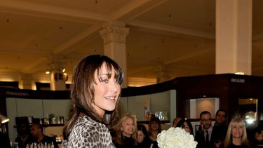 Moving on ... Tamara Mellon launches Jimmy Choo fragrance last year.