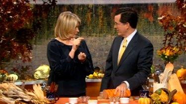 Stewart tells Stephen Colbert how to get a bird drunk.