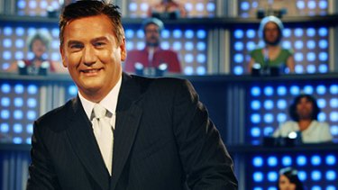 How smart are you?... National IQ Test host Eddie McGuire.