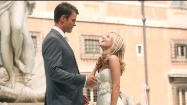 They try their hearts out ... Kristen Bell and Josh Duhamel meet, part and finally come to their senses in When in Rome
