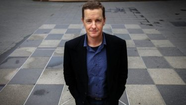 Animal fever: Matthew Reilly says zoos have fascinated him since he was a small boy.