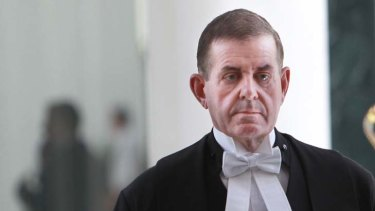 "Peter Slipper ... ""You're cruising for a bruising""."