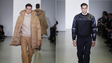 On the runway ... the Stenmark twins walked for Calvin Klein during Milan Men's Fashion Week and will continue their careers overseas.