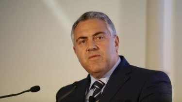 Federal Treasurer Joe Hockey has confirmed that falling commodity prices will hit the federal budget.