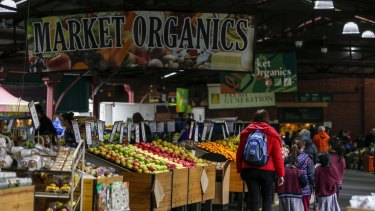 Queen Victoria market trades are worried about their futures after the redevelopment.