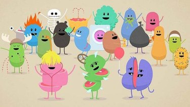 Dumb ways to die...  The original clip has amassed millions of views on YouTube.
