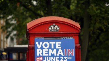 Remain or Brexit? It's a tight race.
