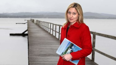Emma McBride is Labor's candidate for Dobell, the seat held by former Labor MP turned independent Craig Thomson.