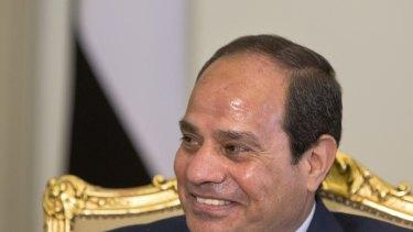 Shared values? Egyptian President Abdel-Fattah el-Sisi.