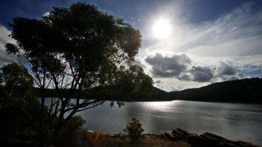 Coalmining concerns: The Woronora dam.