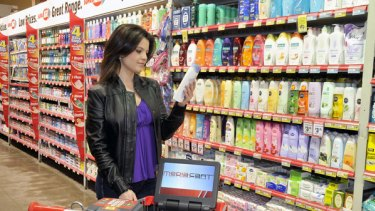 Media Cart trolleys are fitted with a GPS navigation system that alerts the store's database when a shopper moves into a particular area, triggering an appropriate ad.