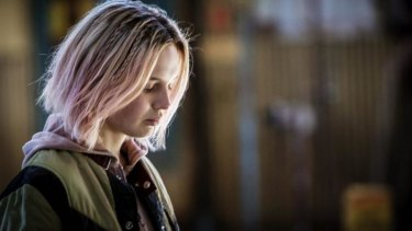 Impressive: Odessa Young in the intense Australian drama <i>The Daughter</i>, which had its world premiere at the festival.