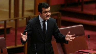 Labor Senator Sam Dastyari slams the wind back of financial advice laws in the Senate.