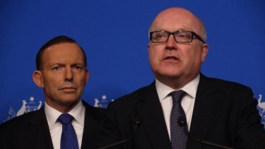 Prime Minister Tony Abbott and Attorney-General George Brandis have had difficulty so far explaining what information would be stored by proposed terror laws.