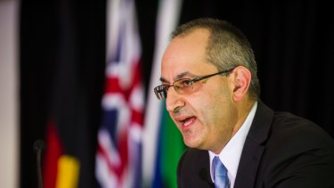 Immigration Department head Michael Pezzullo has laid down the law on dress standards and haircuts.